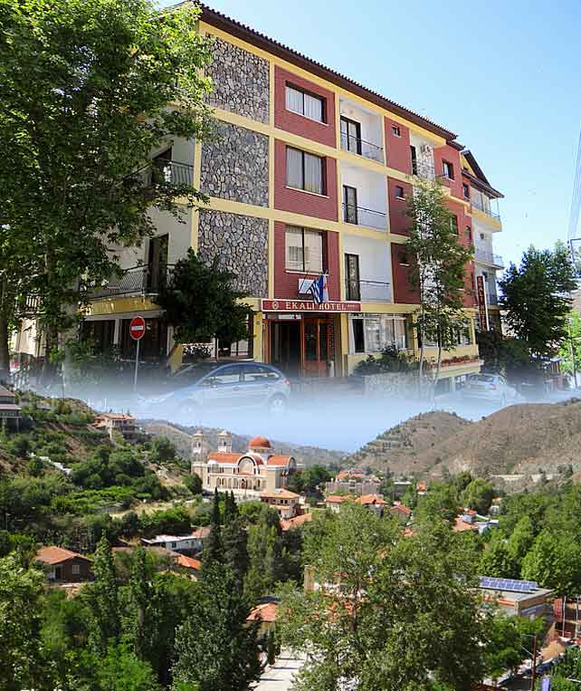 Ekali Hotels Troodos Kakopetria Village