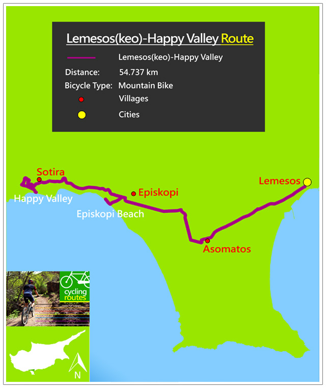 Lemesoskeo HappyValley Mappa