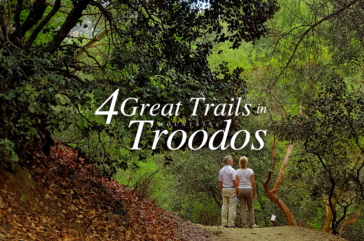 4 Große Trails in den Troodos-Bergen