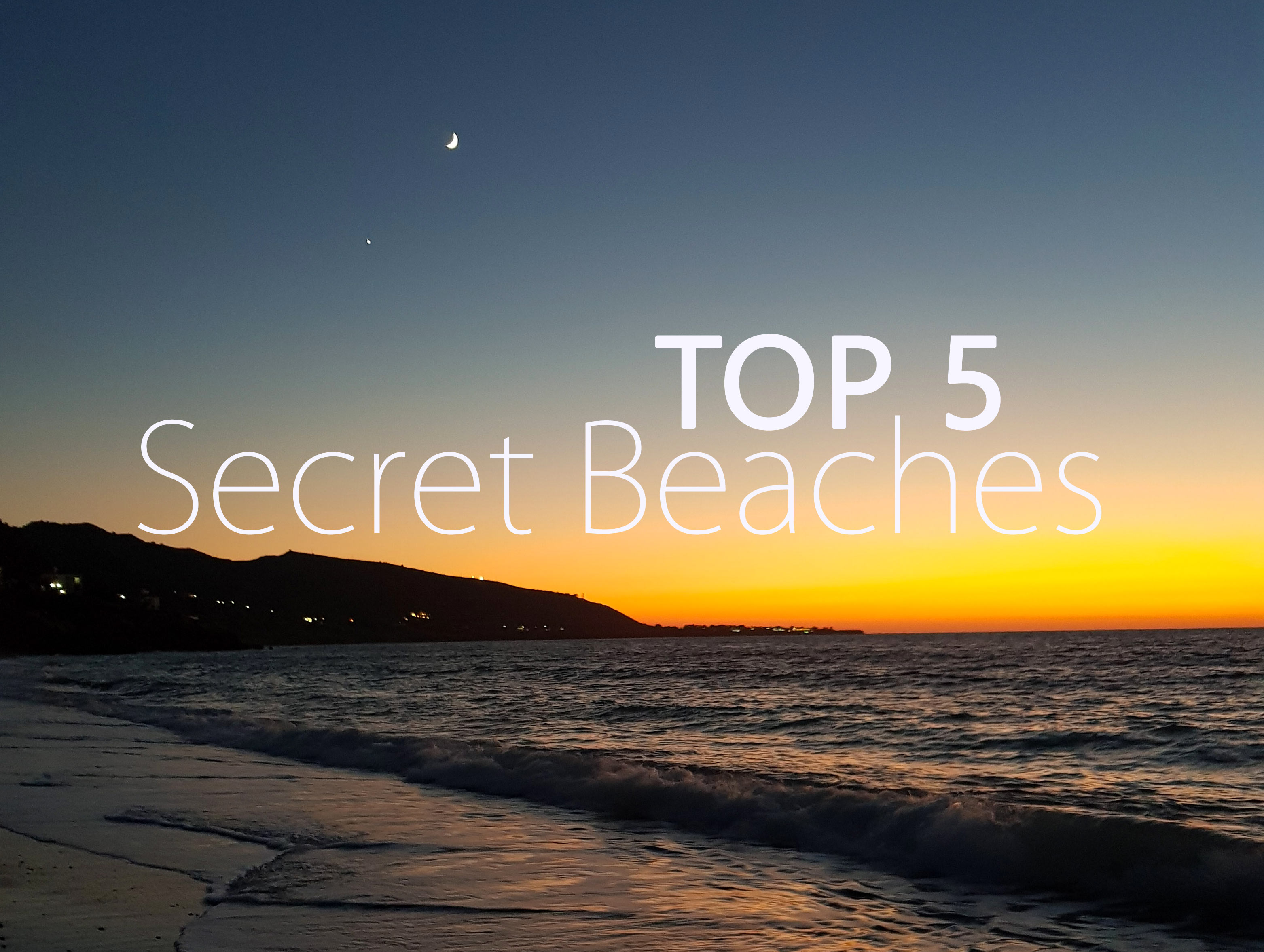 I nostri 5 Top Secret Spiagge