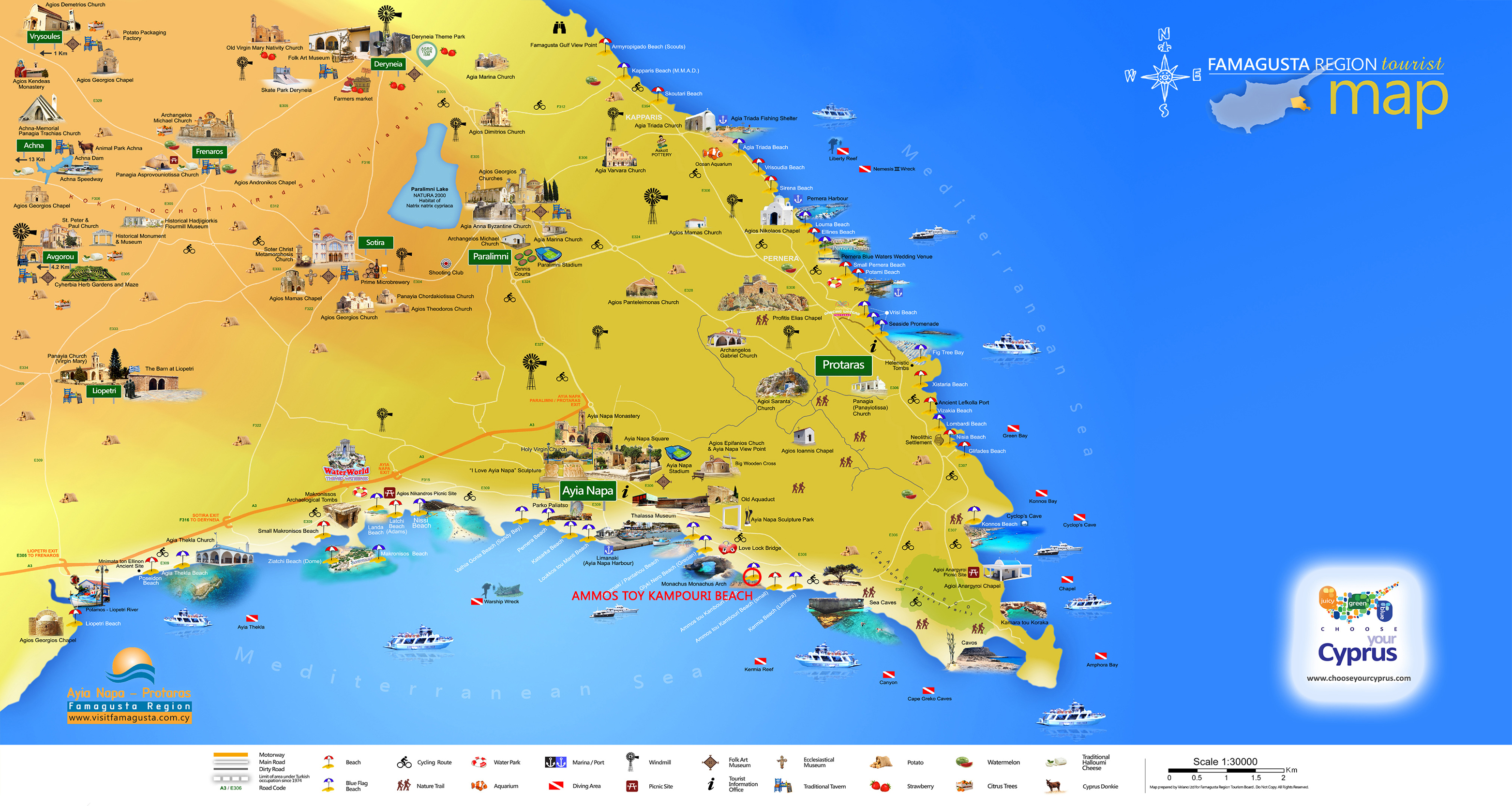 Famagusta Map