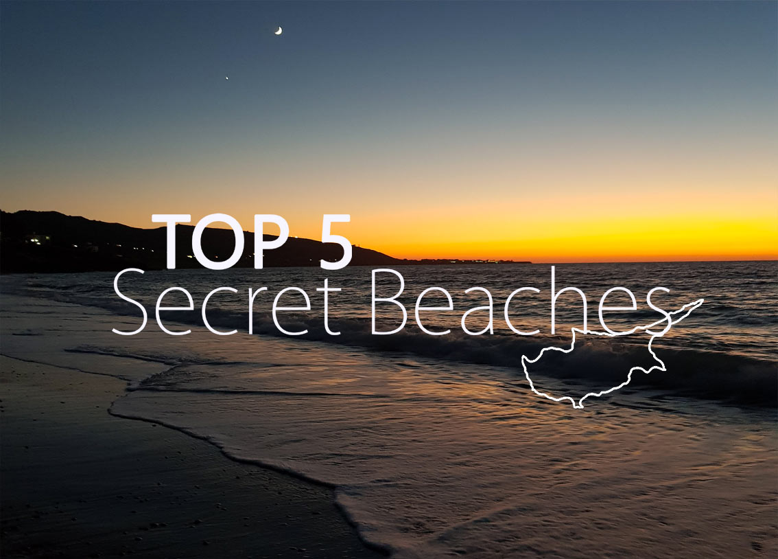 OUR 5 TOP SECRET BEACHES