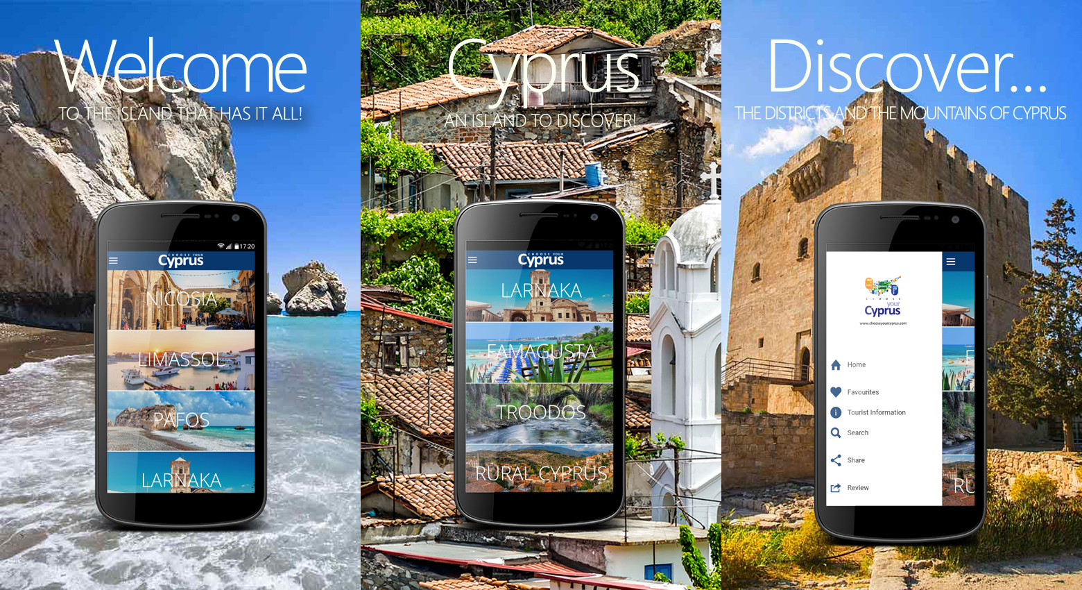 Choose your Cyprus APP3