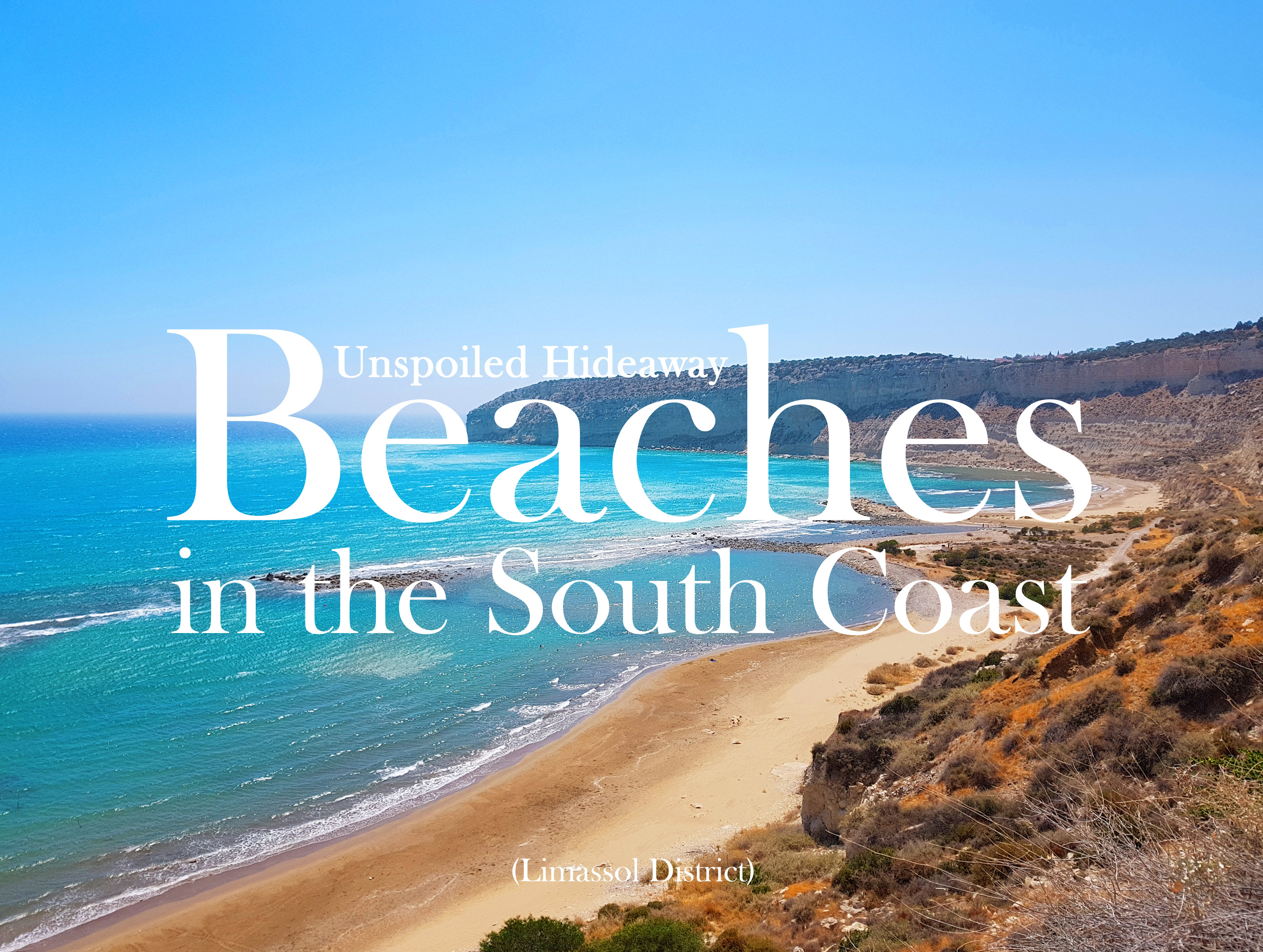 Unspoiled Hideaway Beaches in the South Coast