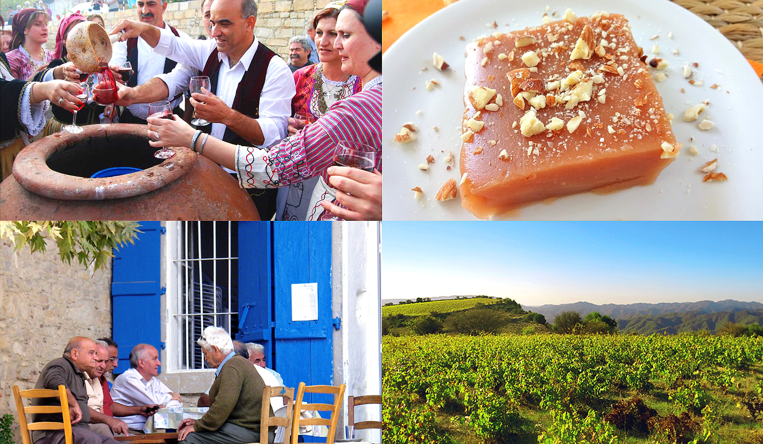 AUTUMM GRAPE FEAST IN TROODOS MOUNTAINS