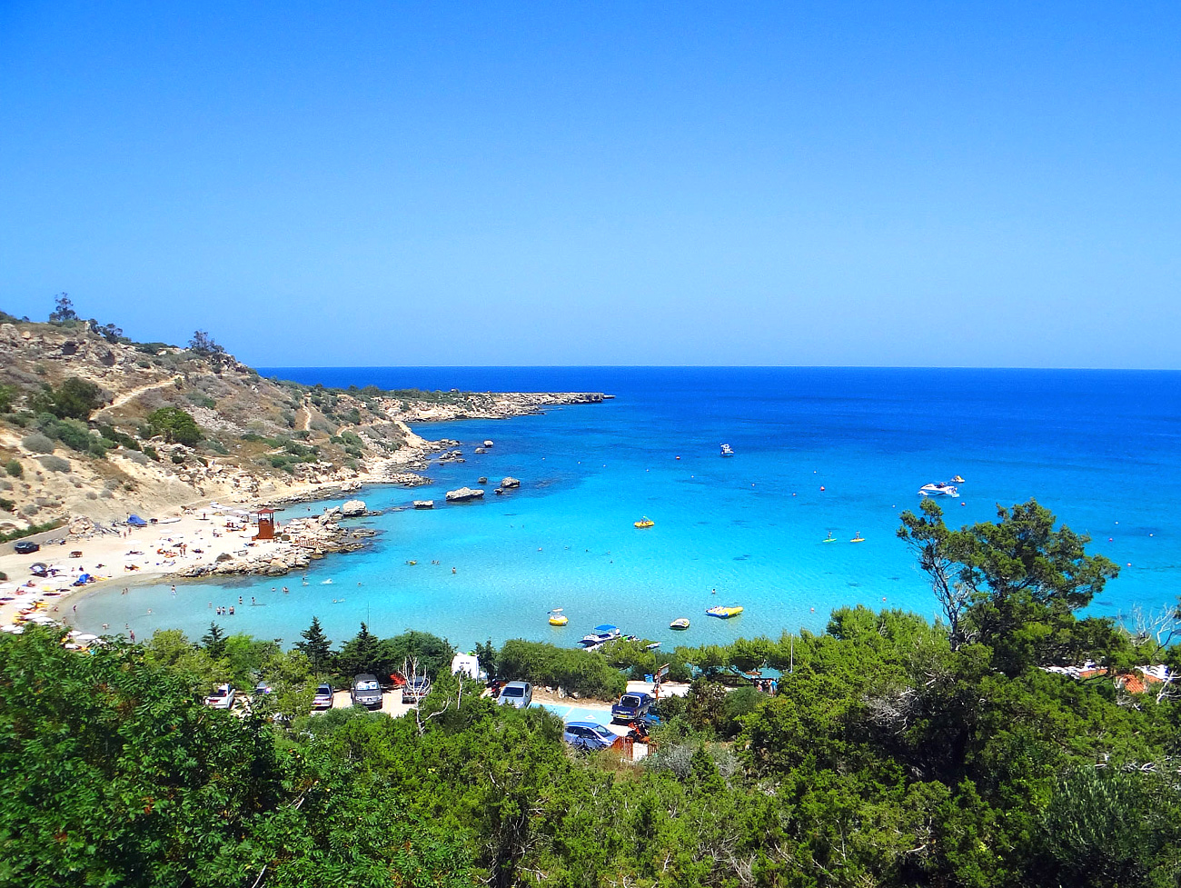 TOP 5 BEACHES AYIA NAPA & PROTARAS