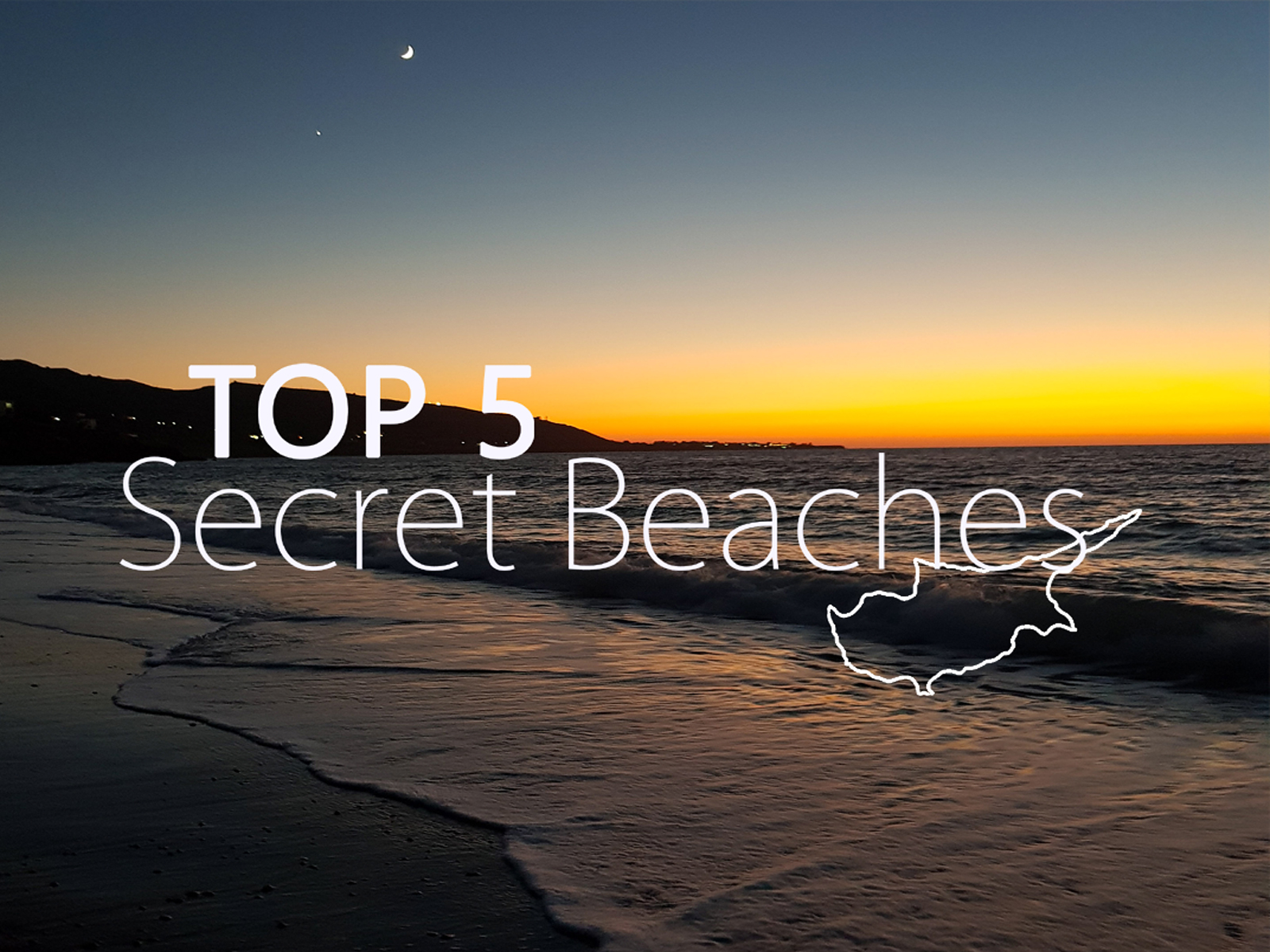 NOS TOP 5 SECRET BEACHES