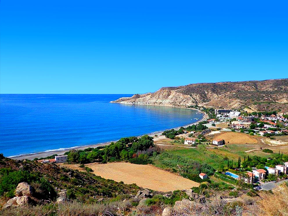 Pissouri-Village & Bay