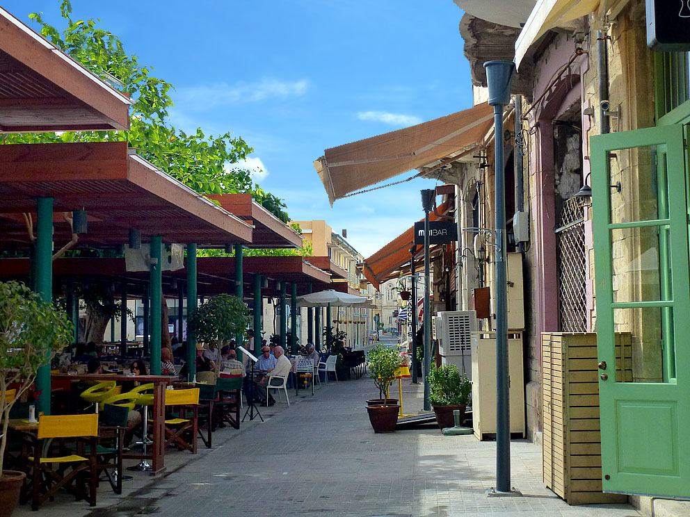 Saripolou Square & Old Market (Bar - Café -Restaurants)