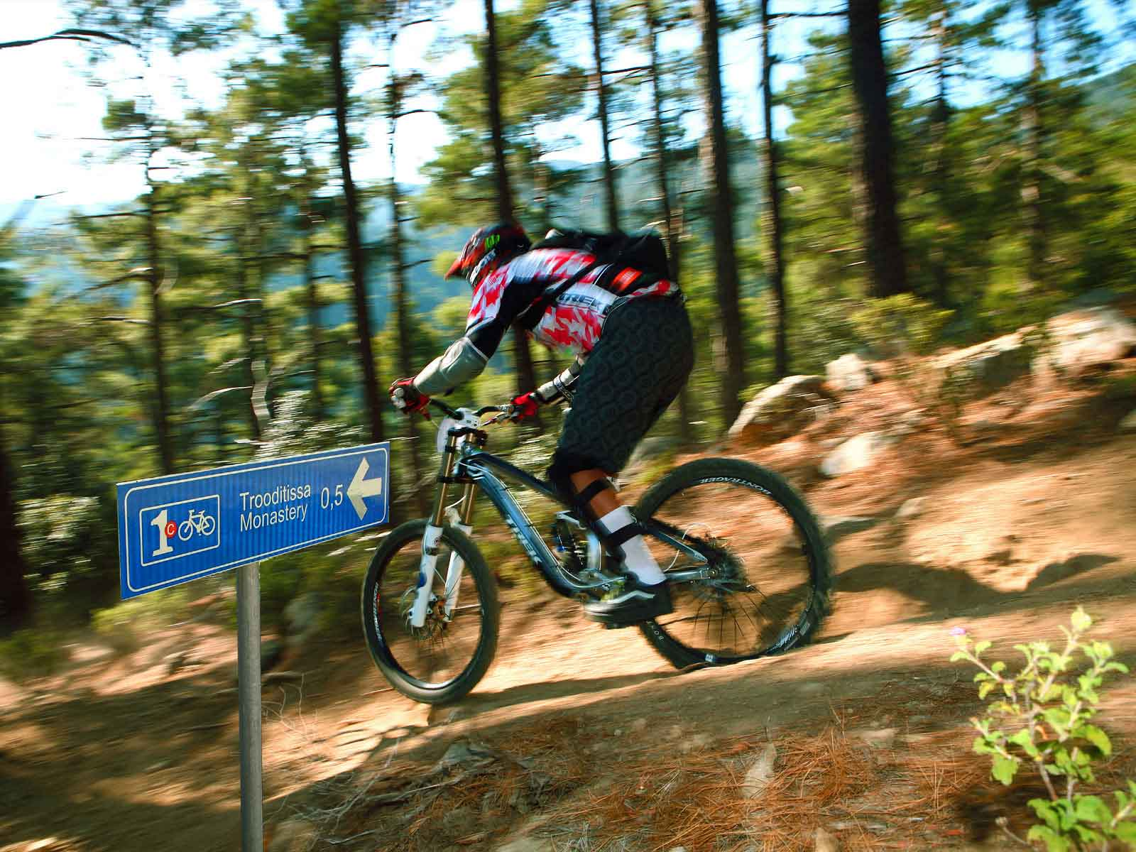Percorsi in bicicletta Troodos