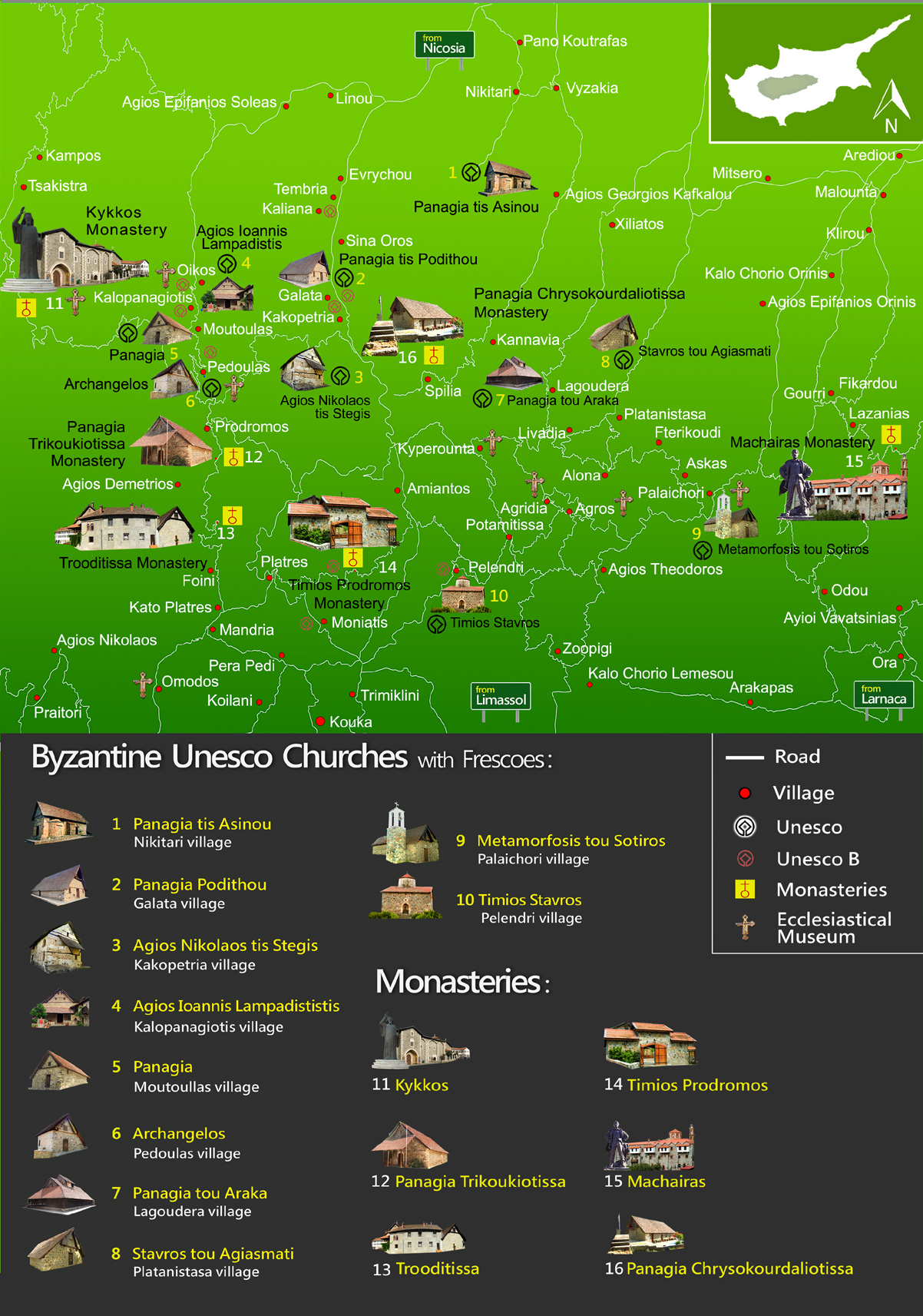 Byzantine-Map-unesco cyprus