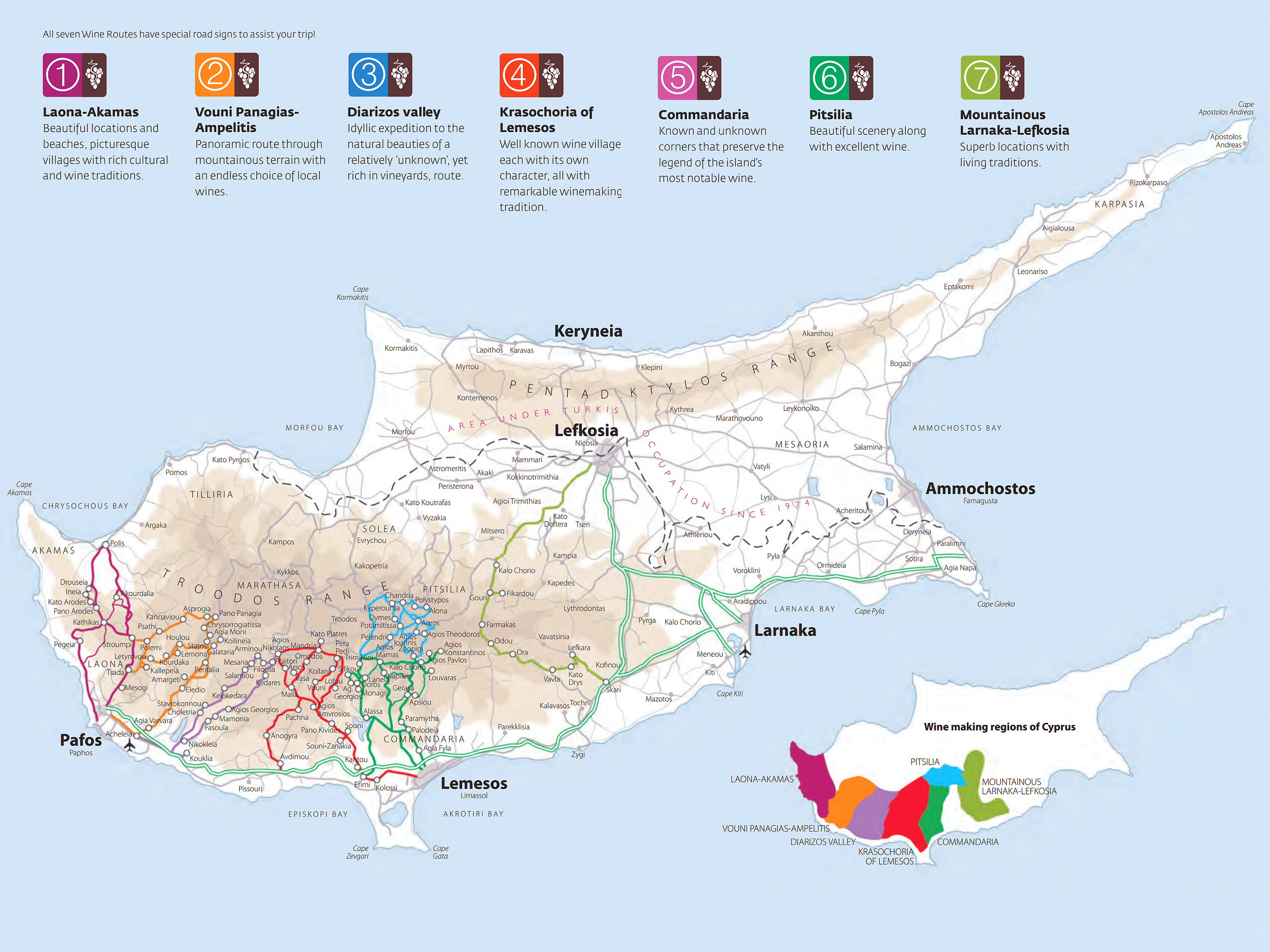 Cyprus Wine Routes Visit in Cyprus Booking in Cyprus Holidays