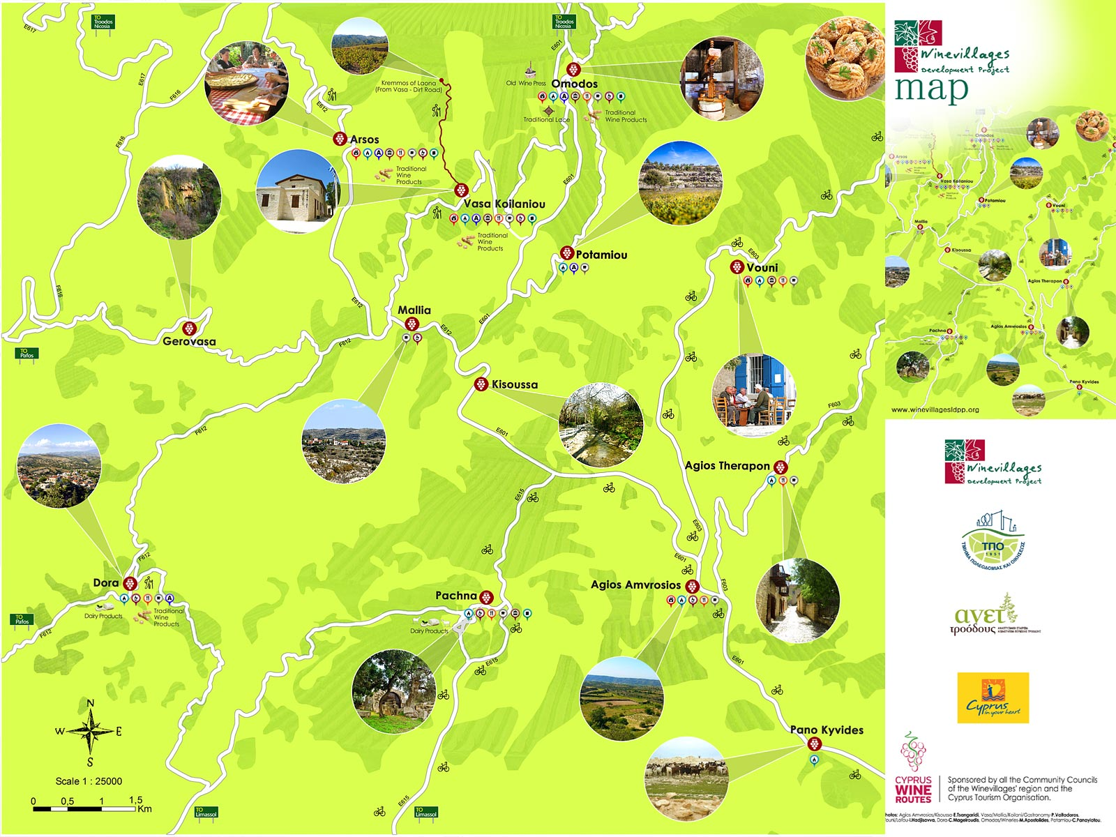 Wine Villages Mappa