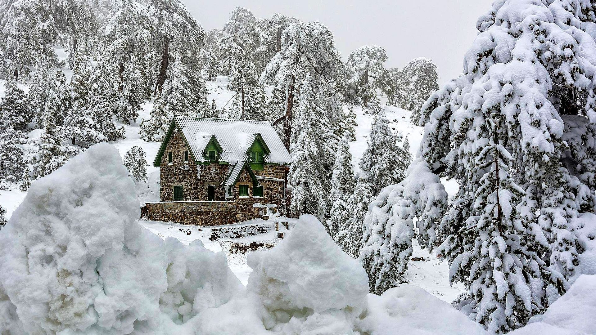 WINTER IN TROODOS