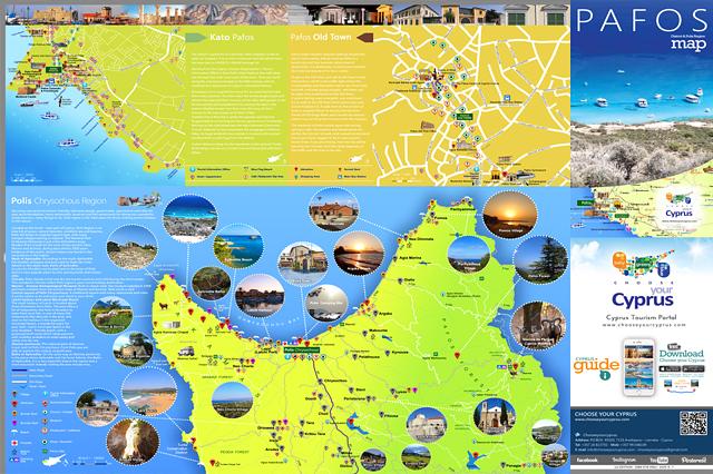 Paphos Karte