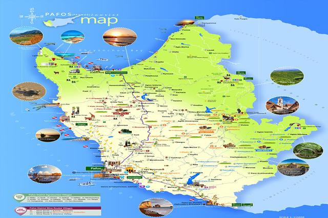 Пафос Карта
